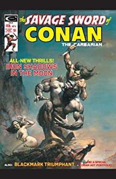 Savage Sword Of Conan (1974-1995) #4