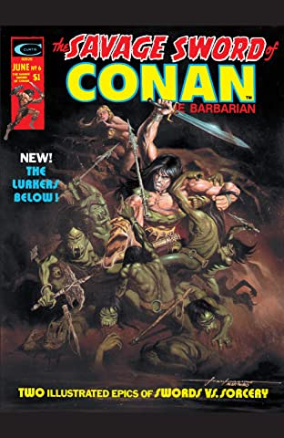 Savage Sword Of Conan (1974-1995) #6