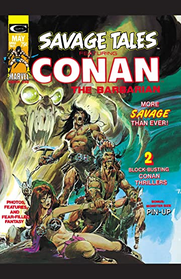 Savage Tales (1971-1975) #4