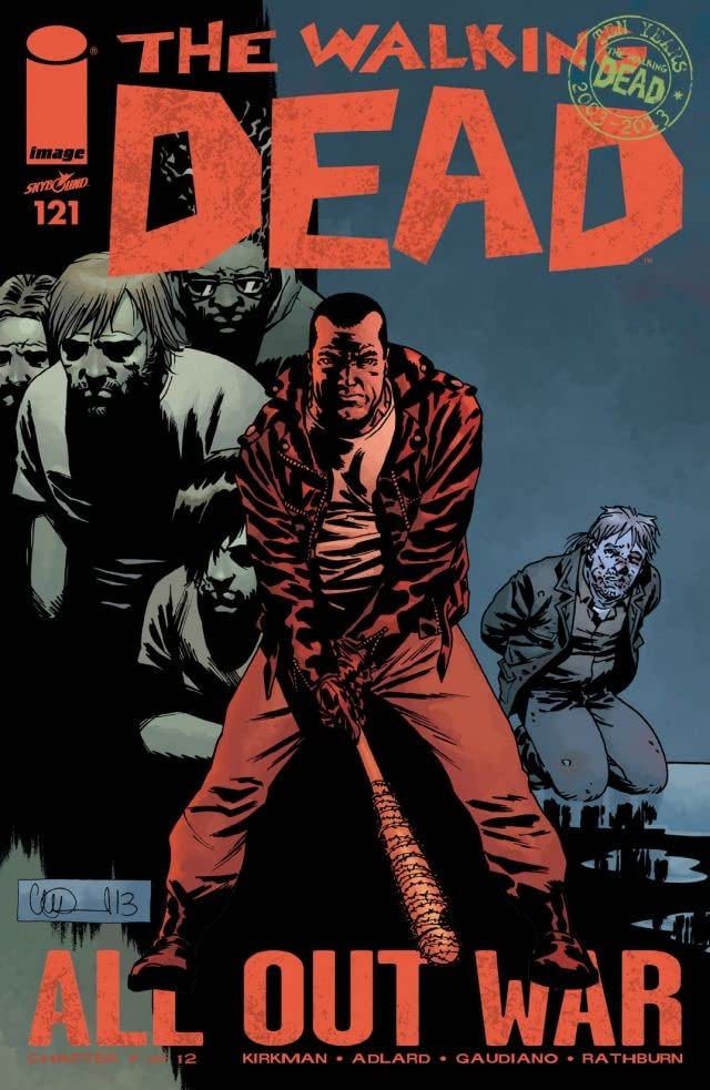 The Walking Dead #121