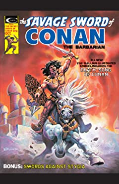 Savage Sword Of Conan (1974-1995) #8
