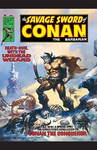 Savage Sword Of Conan (1974-1995) #10