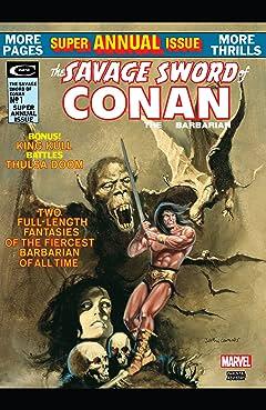 Savage Sword Of Conan Special (1975) #1