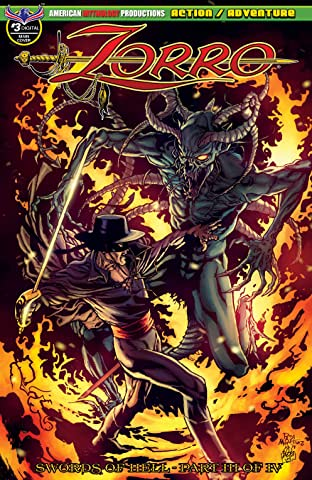 Zorro: Swords of Hell #3