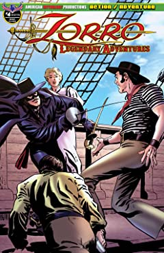 Zorro: Legendary Adventures #4