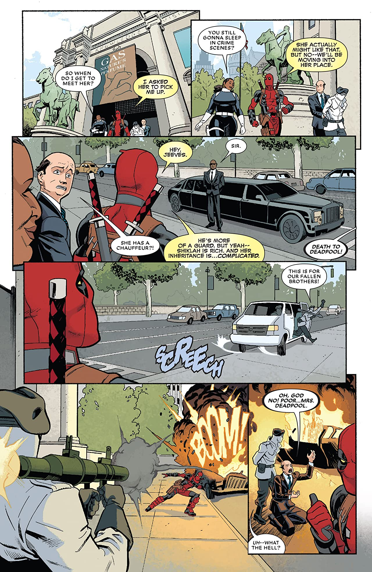 Deadpool by Posehn & Duggan: The Complete Collection Vol. 3