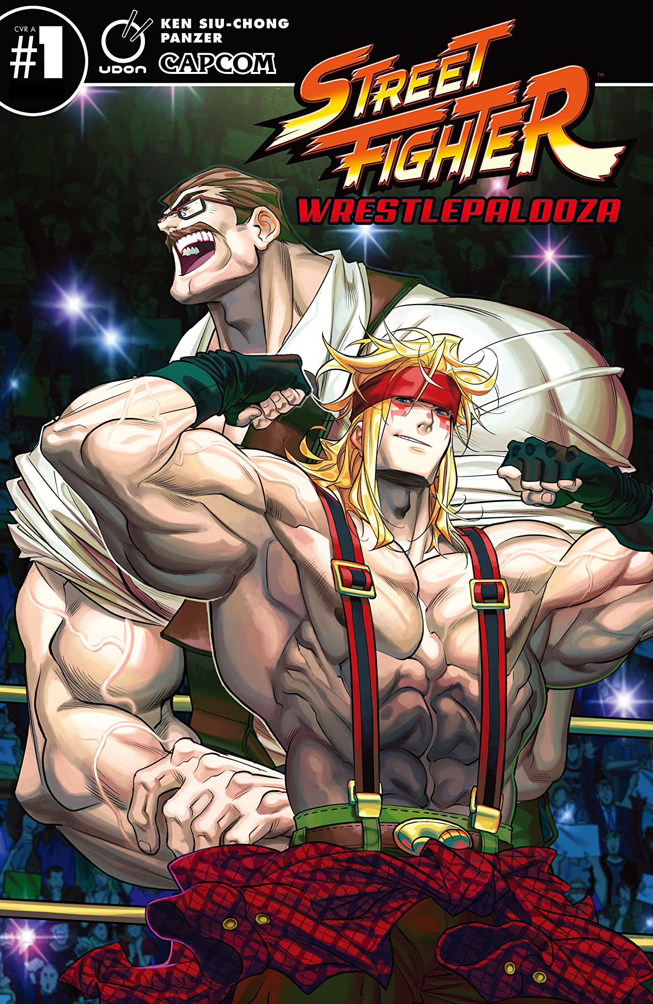 Street Fighter: Wrestlepalooza No.1
