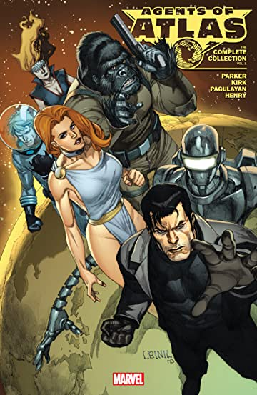 Agents of Atlas: The Complete Collection Tome 1
