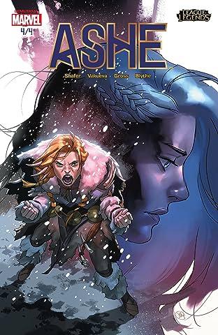 League of Legends: Ashe: A Hadfőnök Képregénysorozat Gyűjteménye Special Edition (Hungarian) #4 (of 4)