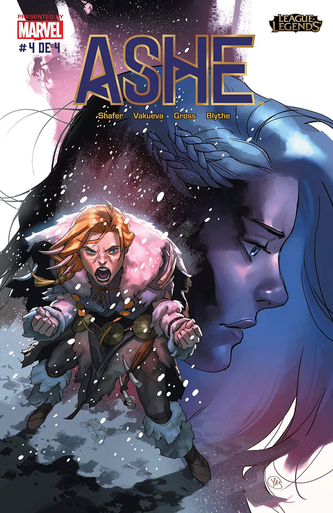 League of Legends: Ashe: Warmother Special Edition (Mexican Spanish) No.4 (sur 4)