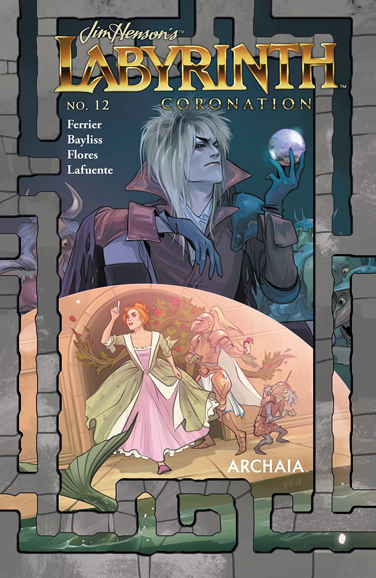 Jim Henson's Labyrinth: Coronation #12