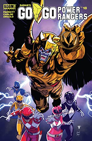 Saban's Go Go Power Rangers #18