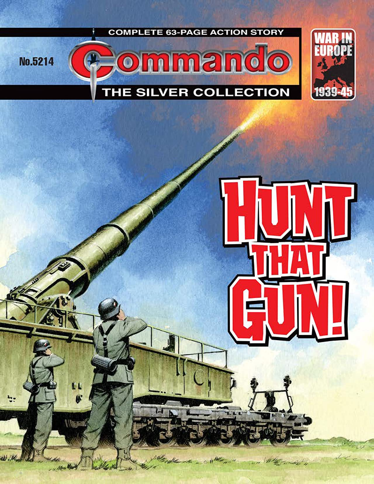 Commando #5214: Hunt That Gun!