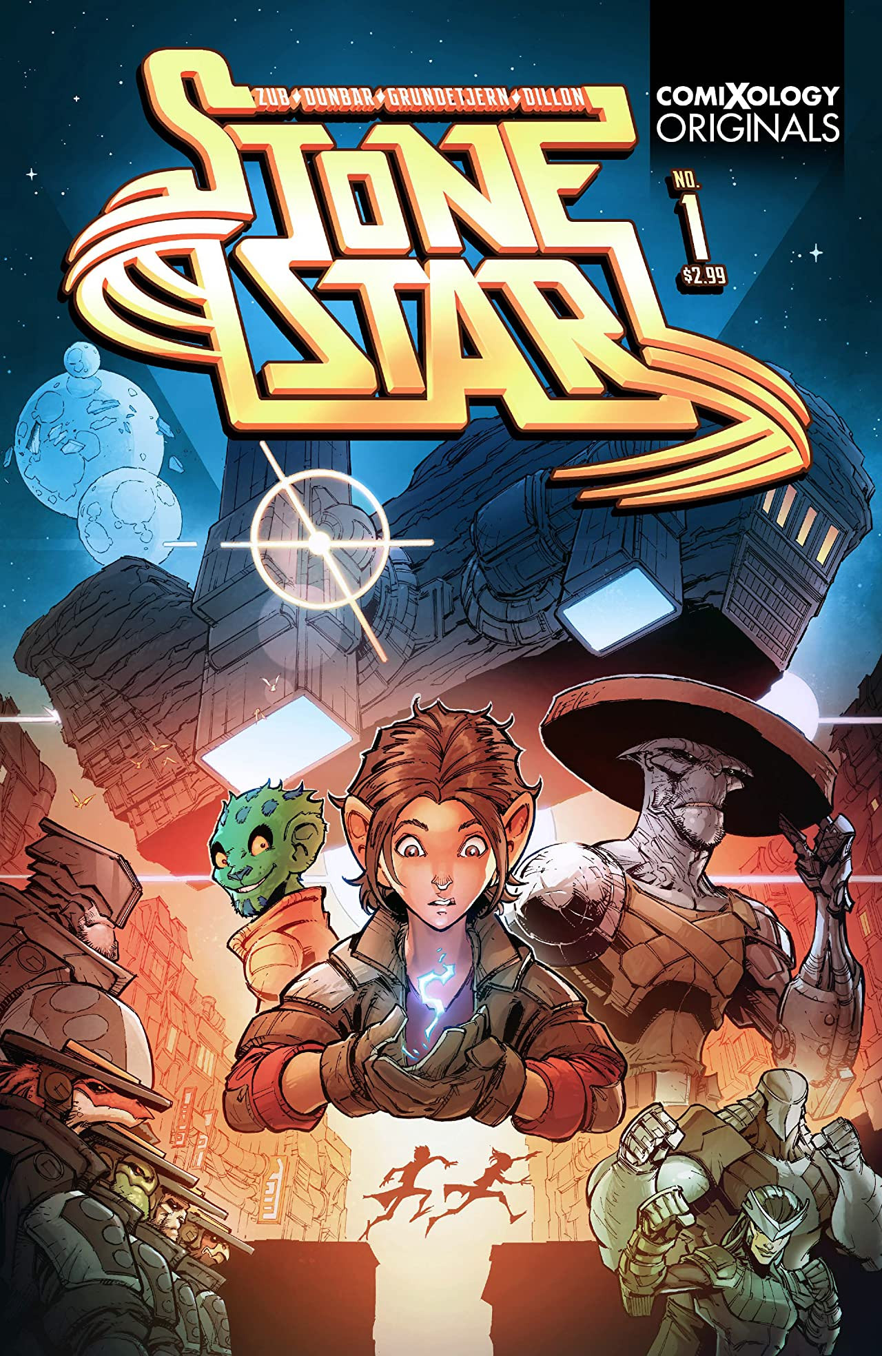 Stone Star Season One (comiXology Originals) No.1 (sur 5)