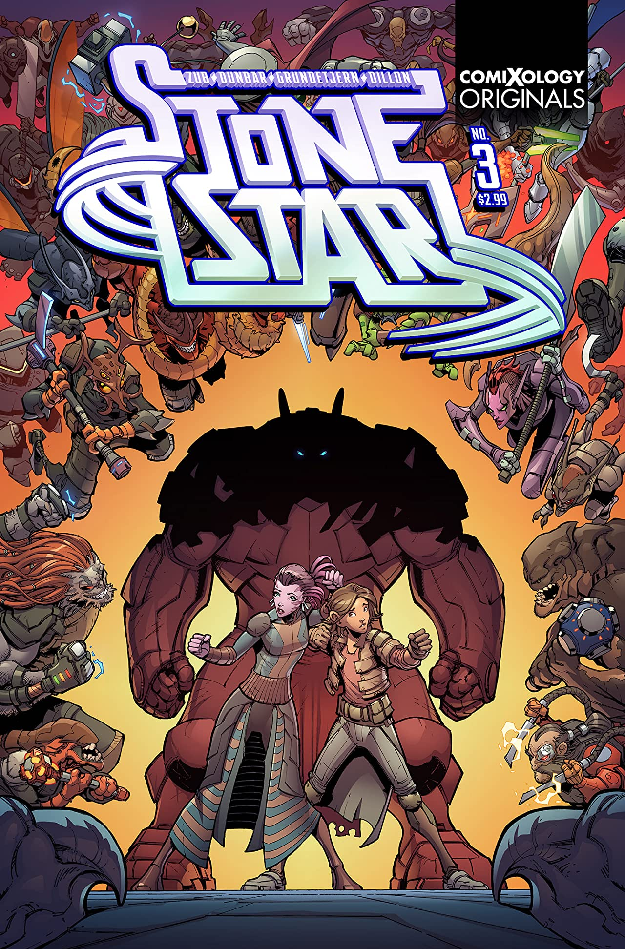 Stone Star (comiXology Originals) #3 (of 5)