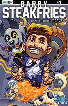 Barry Steakfries: From The Files Of Jetpack Joyride #1