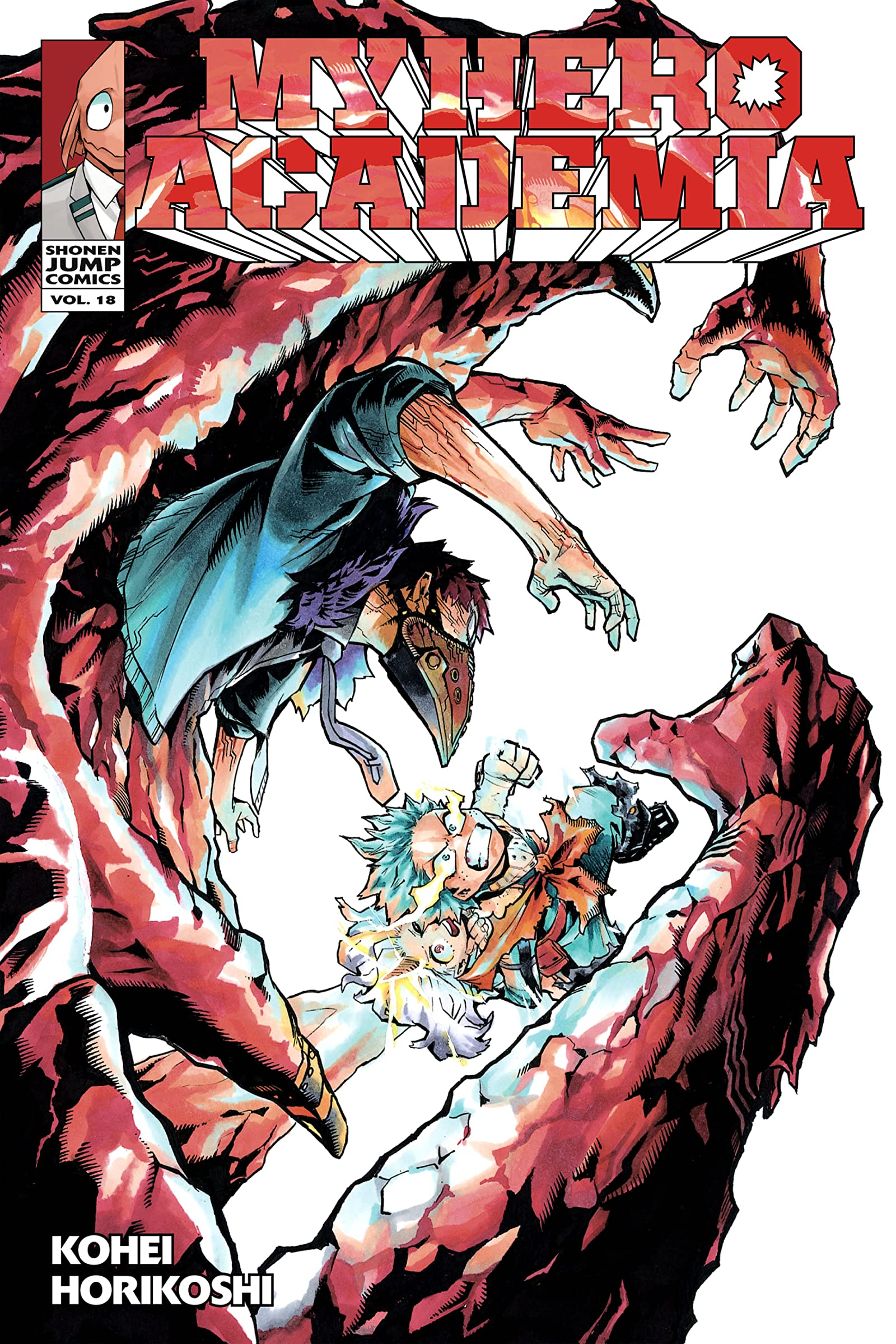 My Hero Academia Vol 18 Bright Future Eu Comics By Comixology