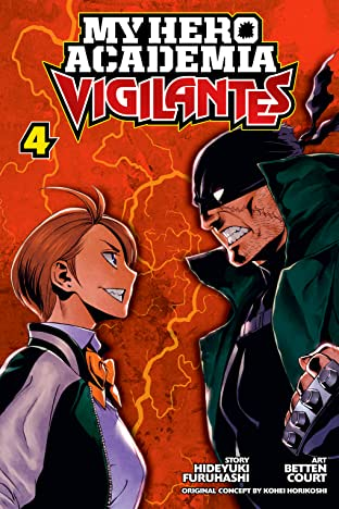 My Hero Academia: Vigilantes Vol. 4