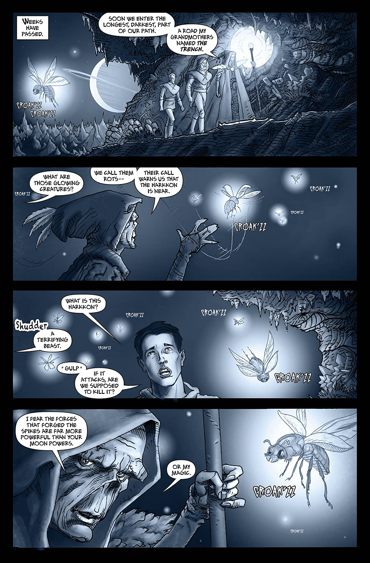 No'madd: The Cave of Broken Tombs #3 (of 3)