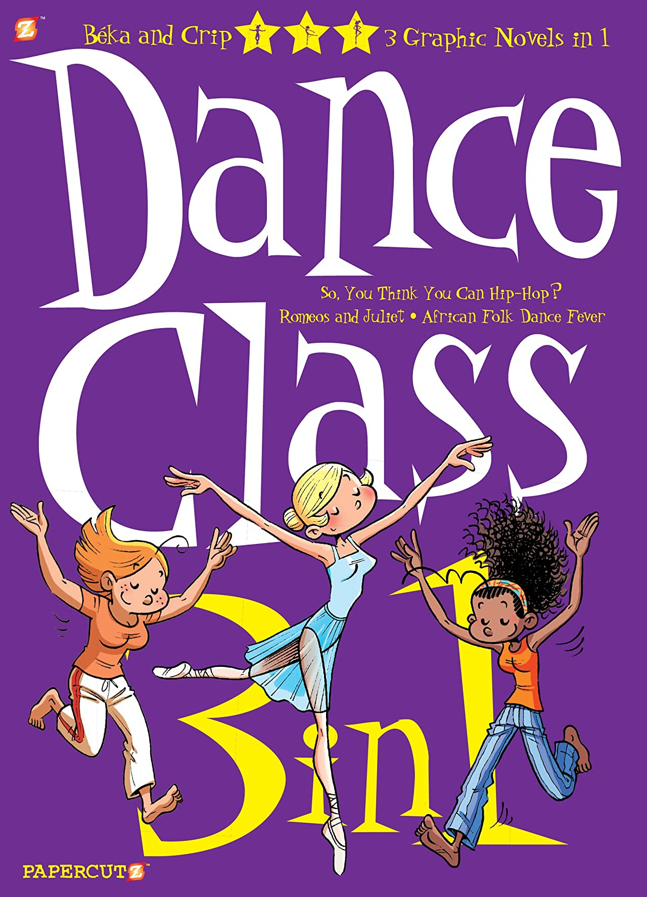 Dance Class 3 in 1 Vol. 1