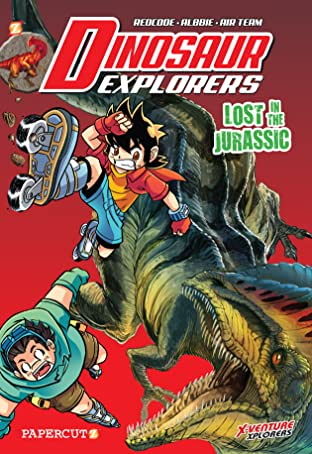Dinosaur Explorers Tome 5: Lost in the Jurassic