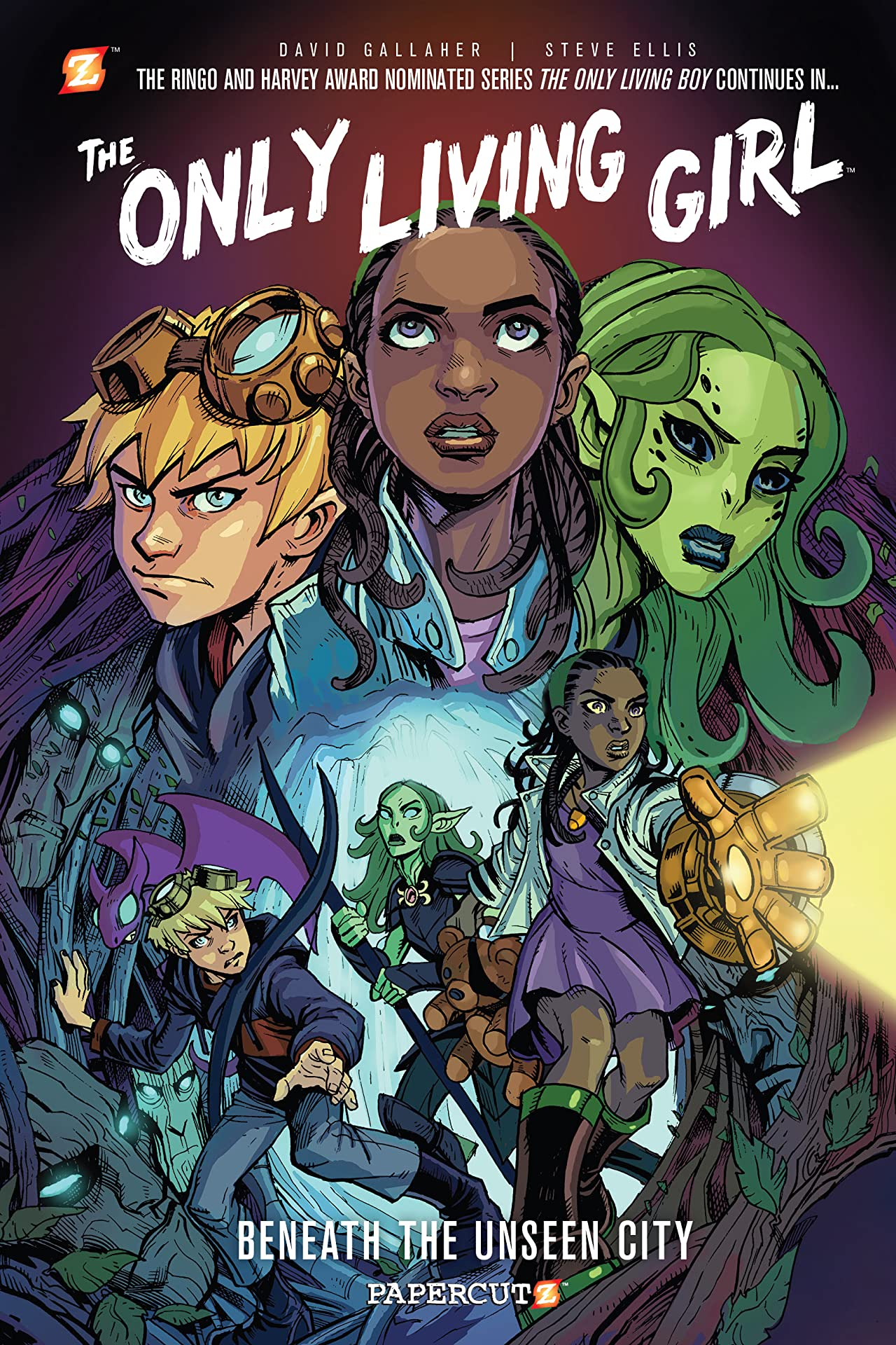 The Only Living Girl Vol. 2: Beneath the Unseen City