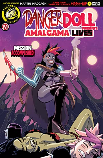 Danger Doll Squad Presents: Amalgama Lives! No.4
