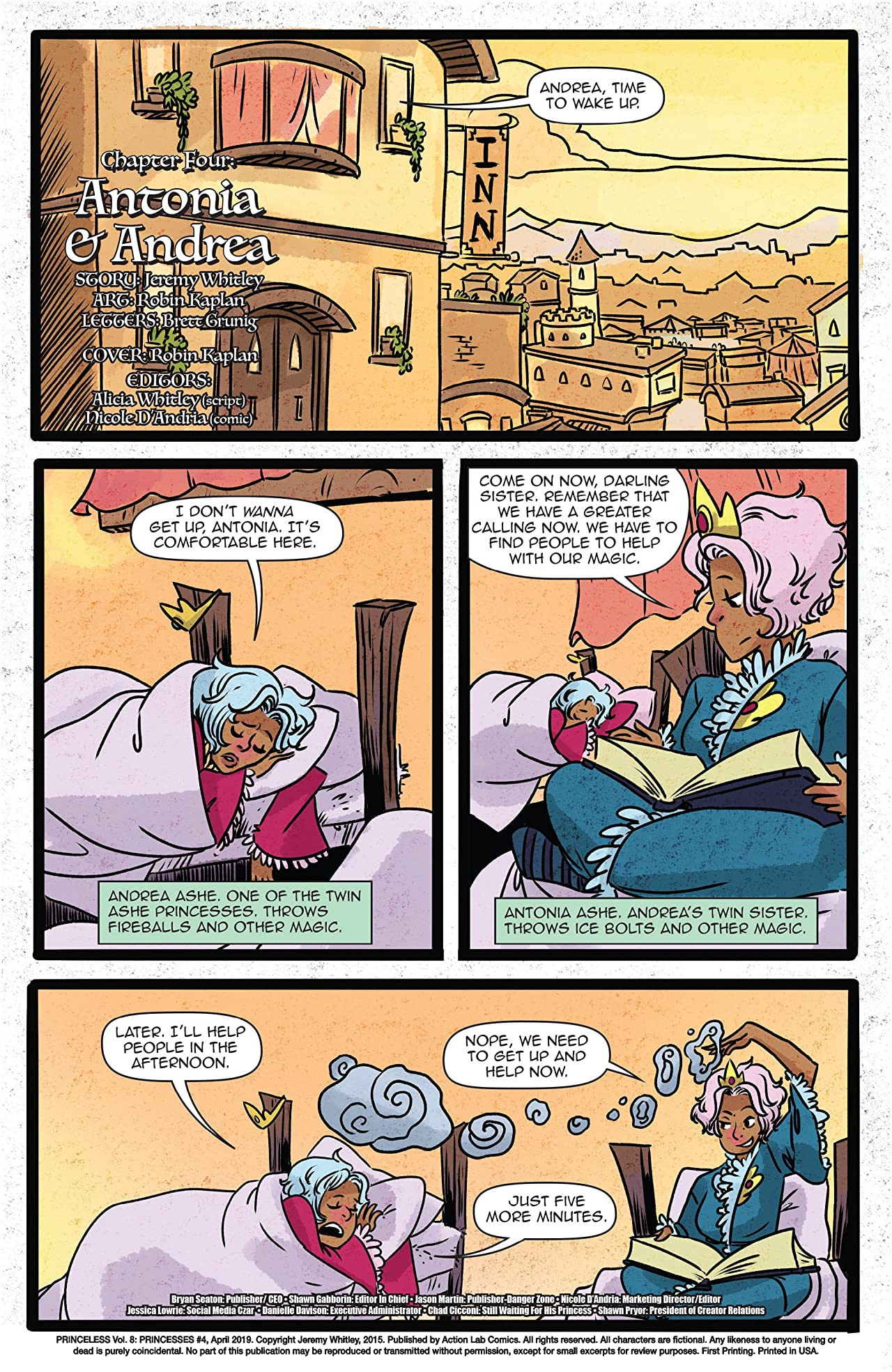 Princeless Book 8: Princesses #4