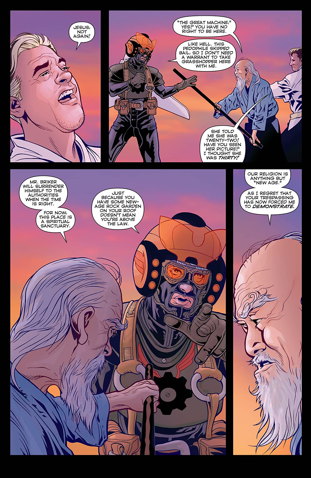 Ex Machina #32