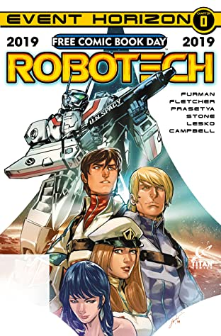 Robotech Free Comic Book Day 2019