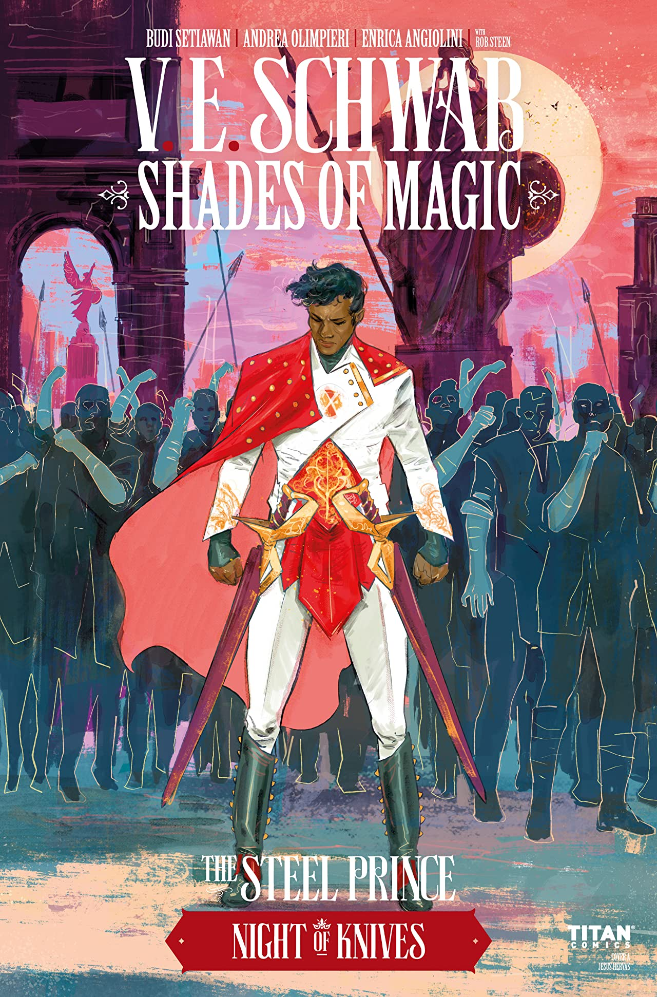 Shades of Magic: The Steel Prince #2.3: The Night of Knives