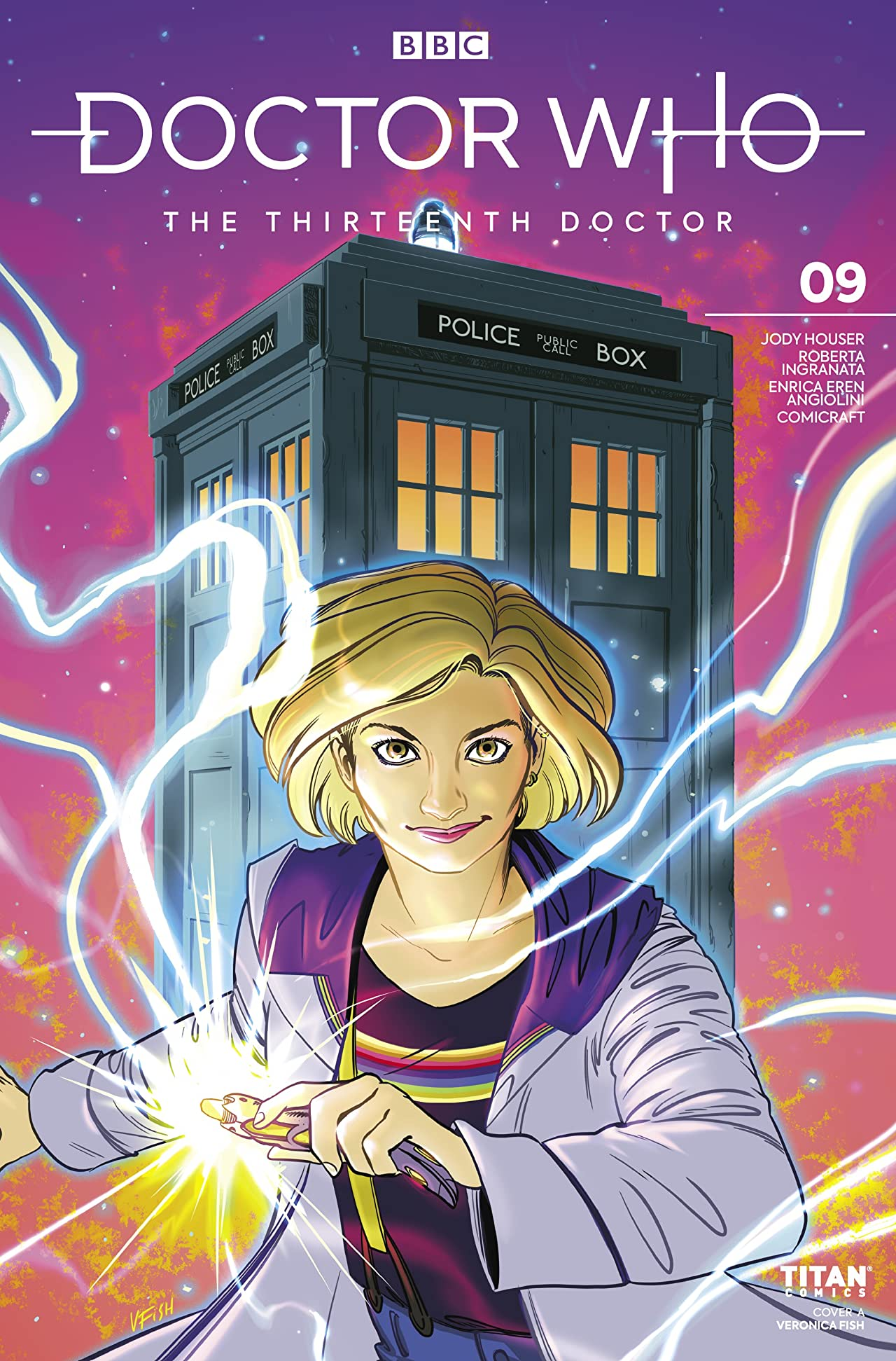 Doctor Who: The Thirteenth Doctor No.9