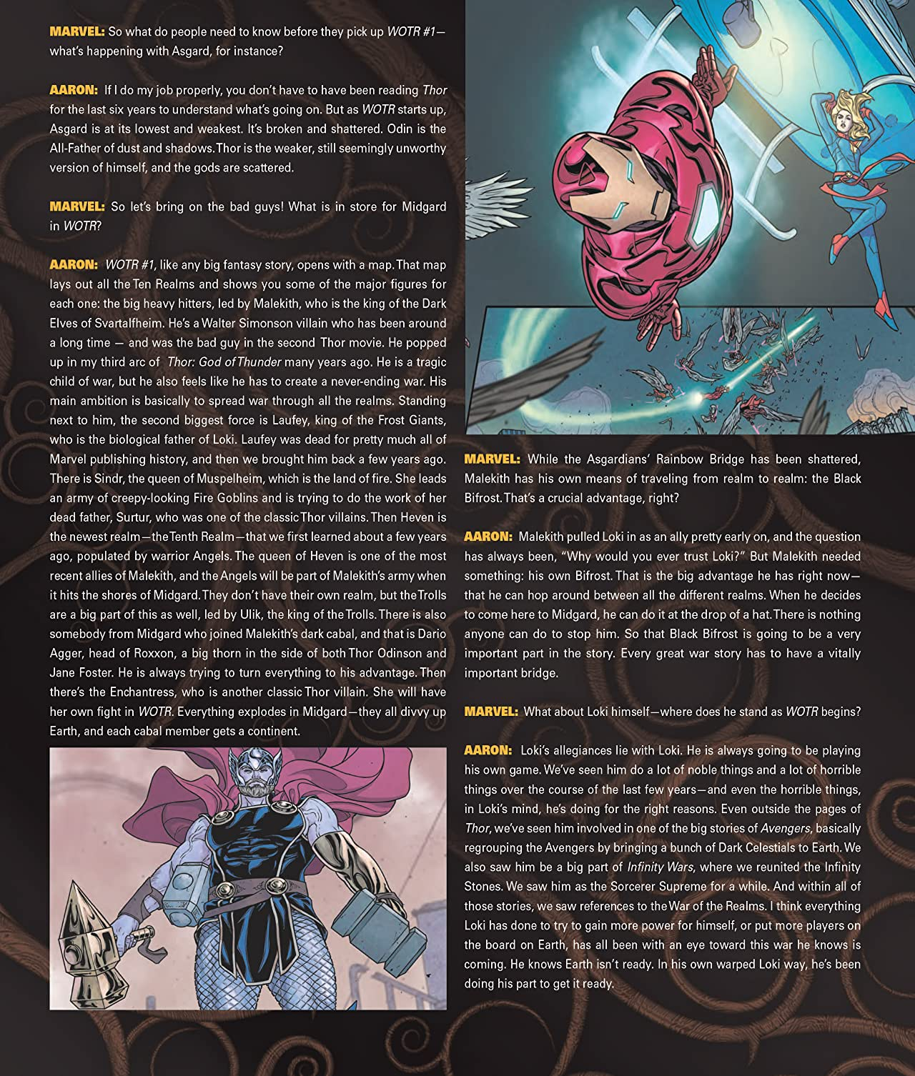 War Of The Realms Magazine (2019) #1