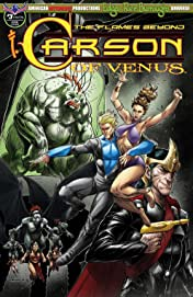 Carson of Venus: The Flames Beyond #3