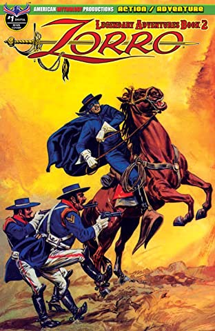 Zorro: Legendary Adventures Vol. 2 #1