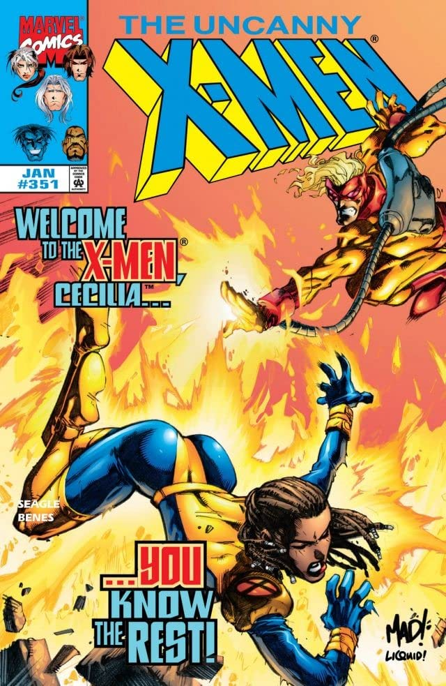 Uncanny X-Men (1963-2011) #351