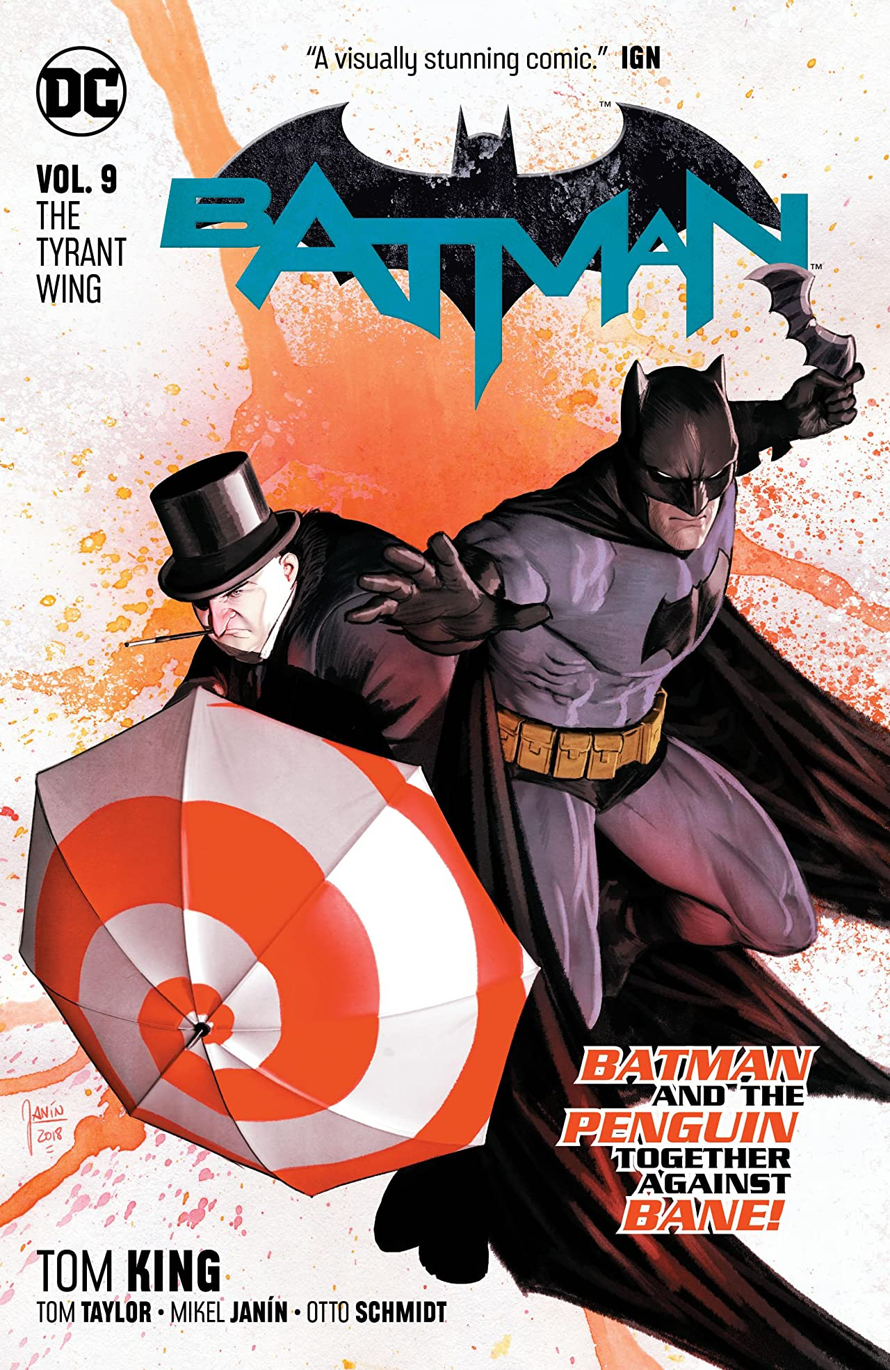 Batman (2016-) Tome 9: The Tyrant Wing