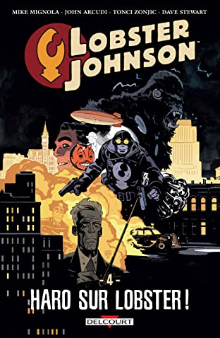 Lobster Johnson Vol. 4: Haro sur Lobster