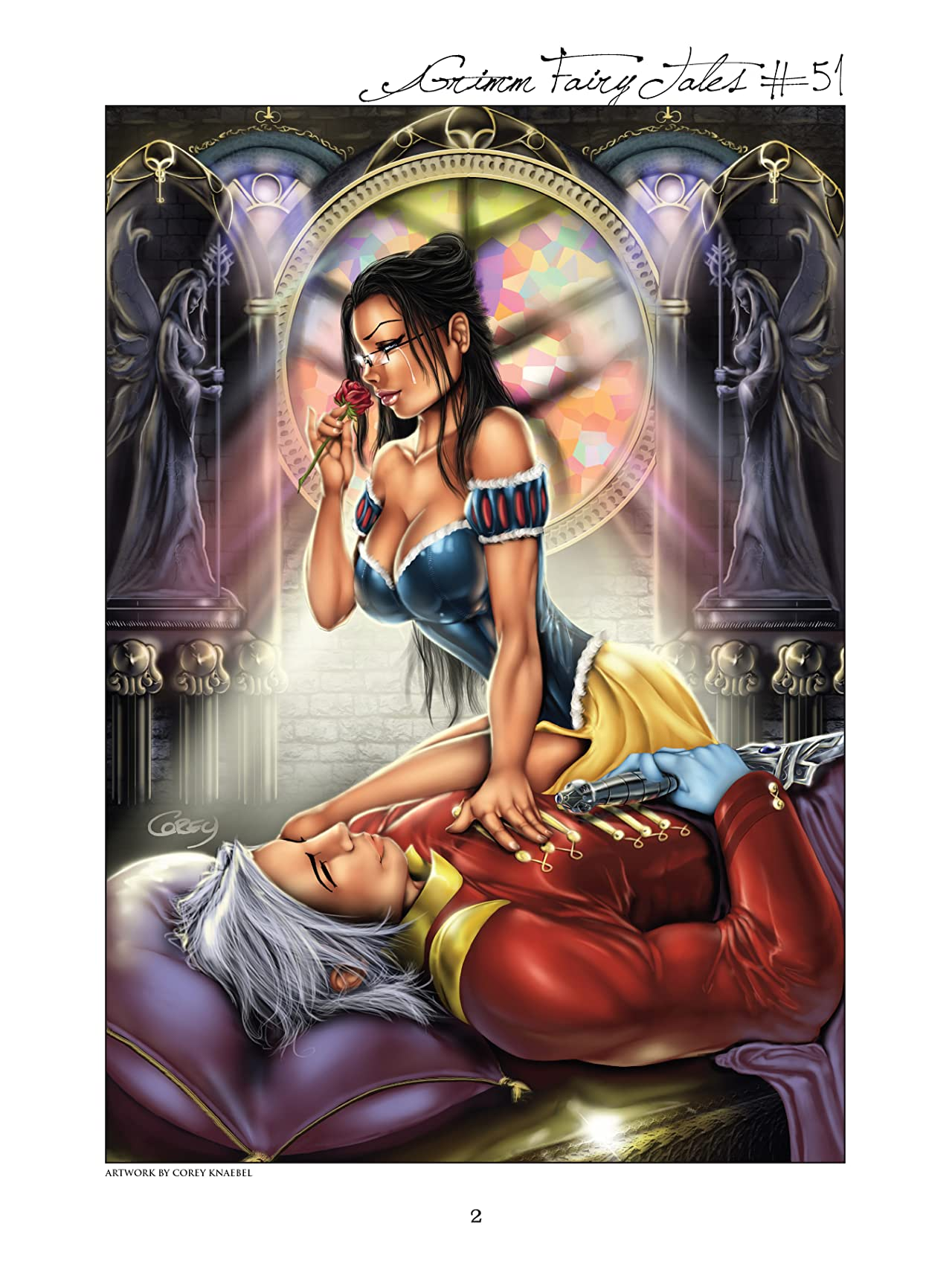 Grimm Fairy Tales Cover Art Book Vol. 2