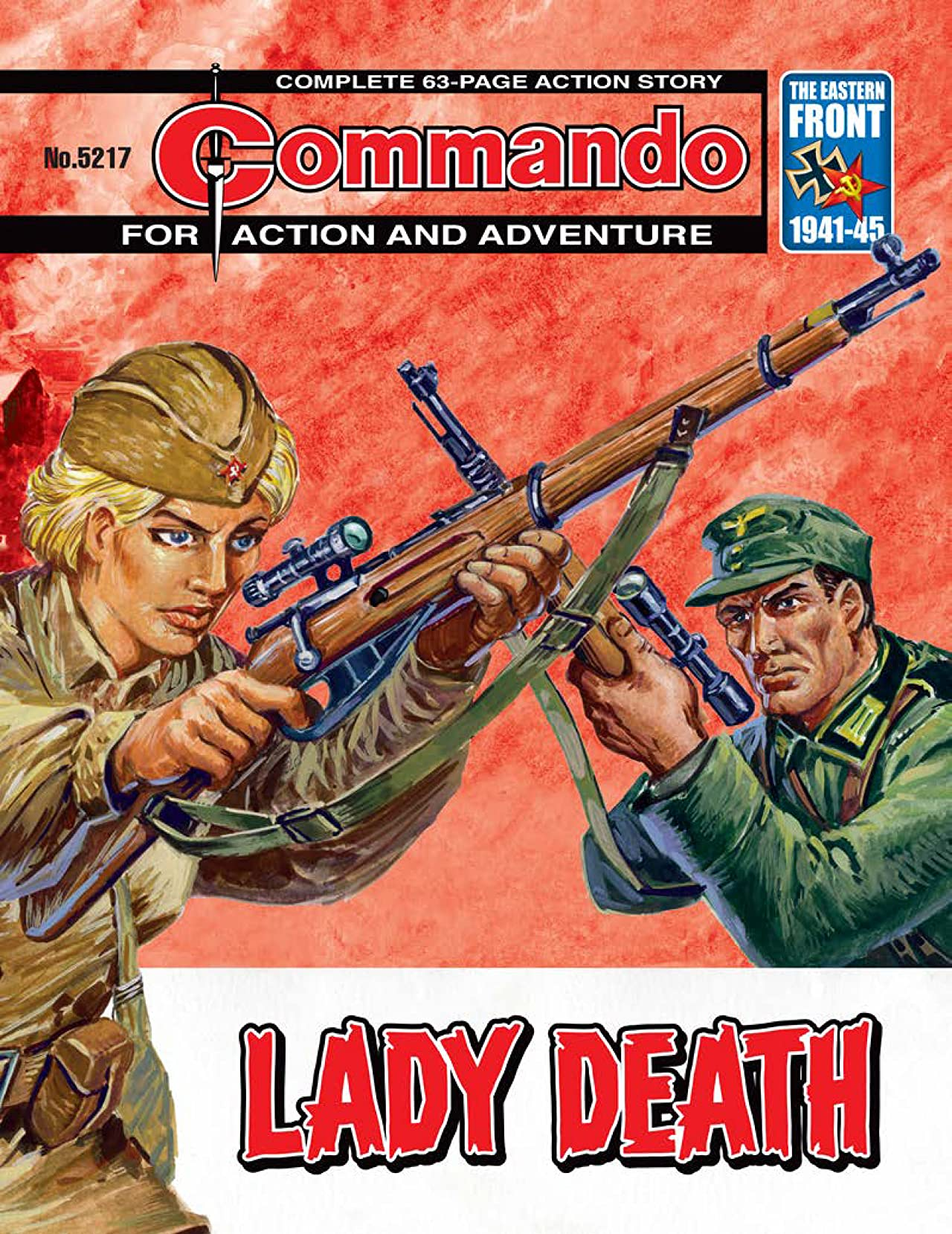 Commando #5217: Lady Death