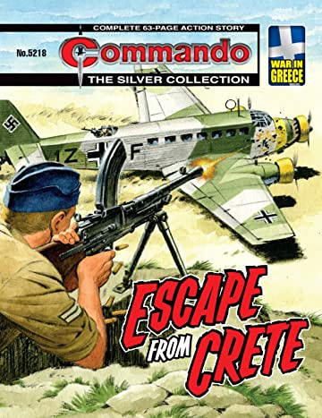 Commando #5218: Escape From Crete