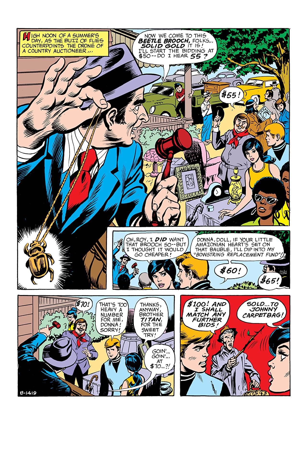 Teen Titans (1966-1978) #42