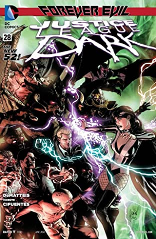 Justice League Dark (2011-2015) #28
