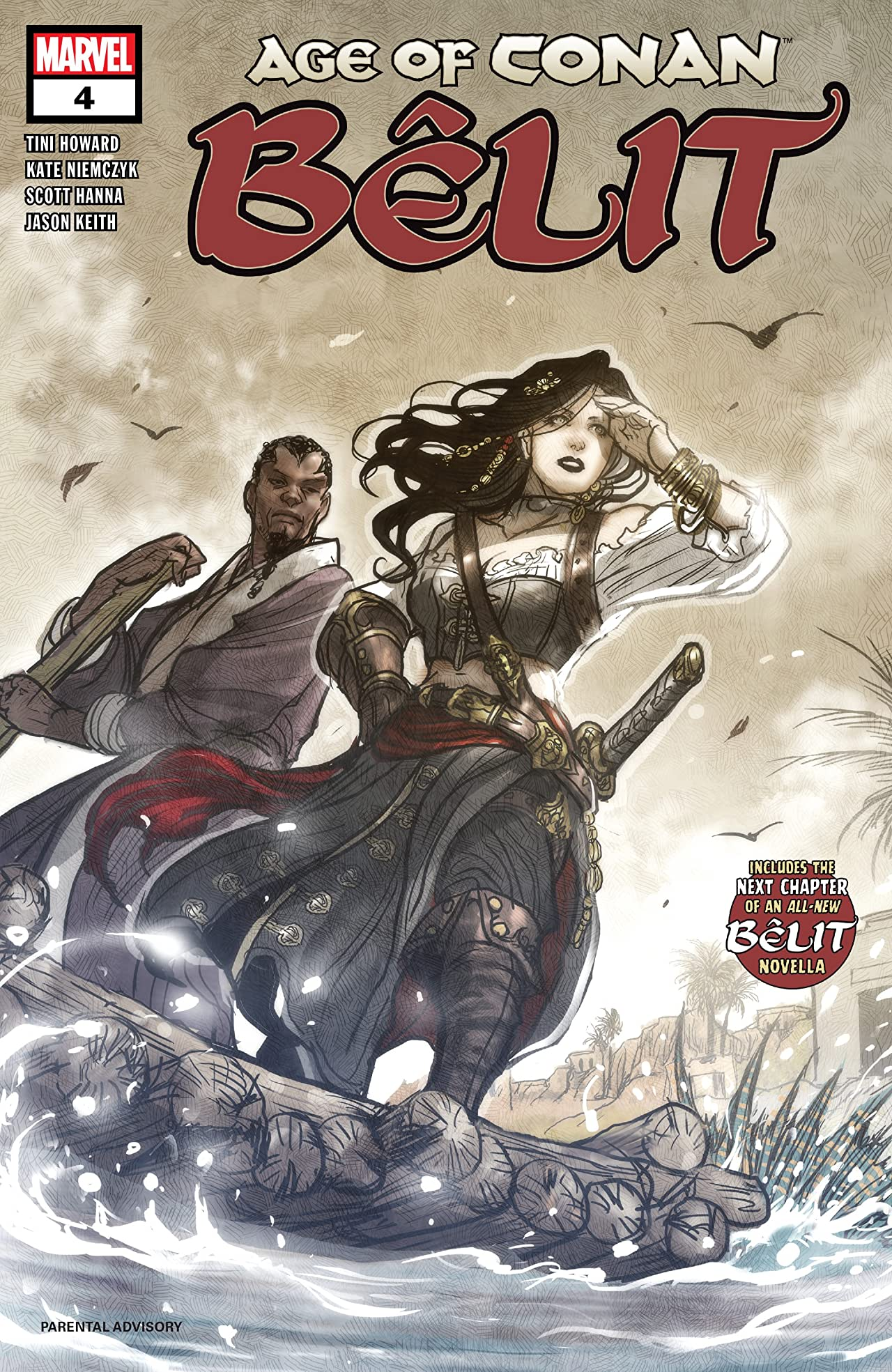 Age Of Conan: Belit, Queen Of The Black Coast (2019) No.4 (sur 5)