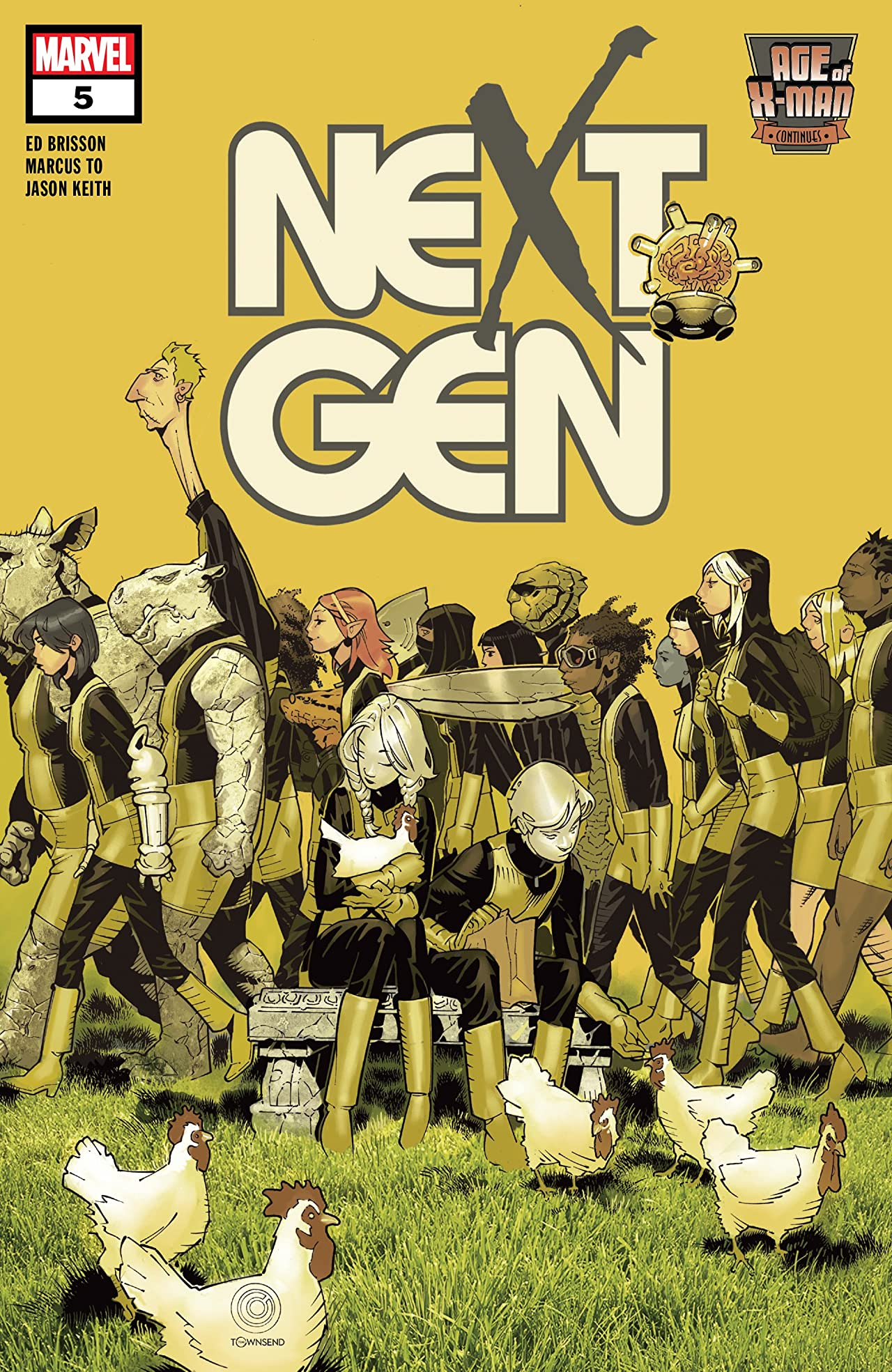 Age Of X-Man: NextGen (2019) No.5 (sur 5)