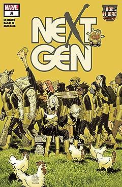 Age Of X-Man: NextGen (2019) #5 (of 5)