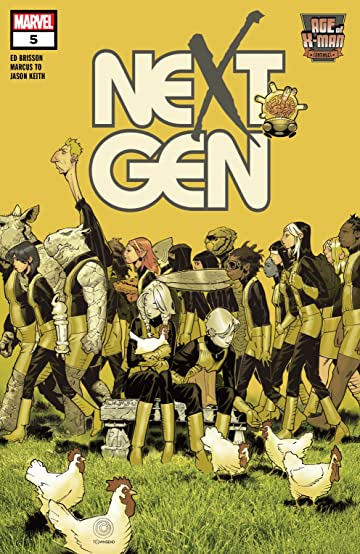 Age Of X-Man: NextGen (2019) #5 (of 5)