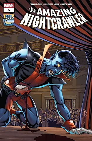Age Of X-Man: The Amazing Nightcrawler (2019) #5 (of 5)