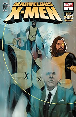Age Of X-Man: The Marvelous X-Men (2019) No.5 (sur 5)