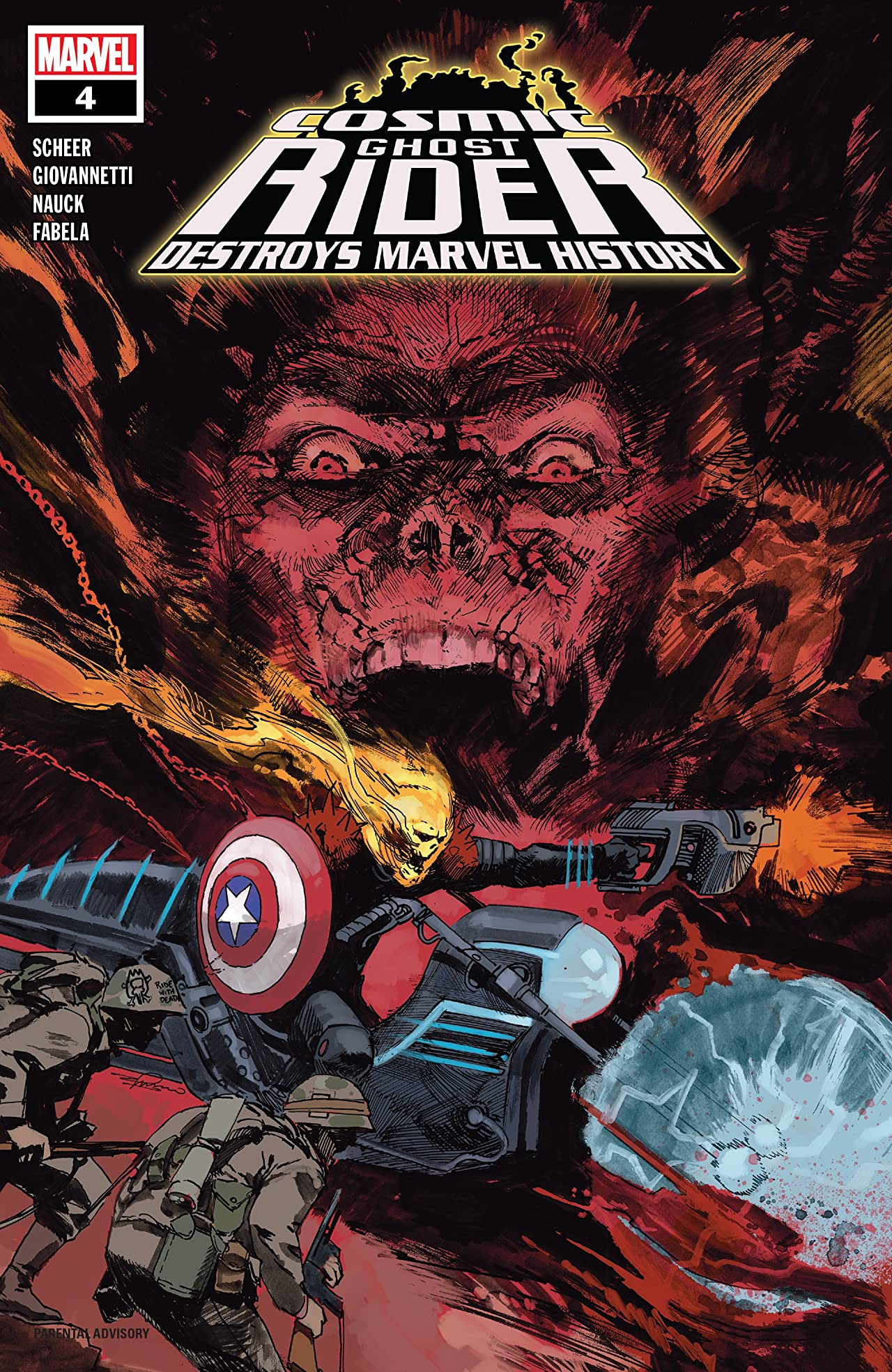 Cosmic Ghost Rider Destroys Marvel History (2019) No.4 (sur 6)